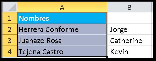 Texto en Columnas