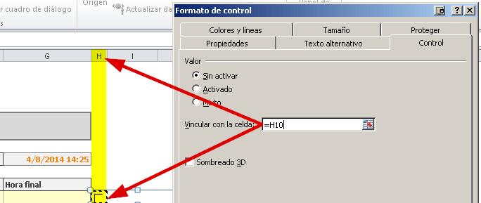 Agenda en Excel