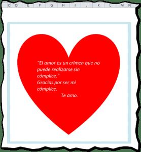 Día del amor y la amistad.