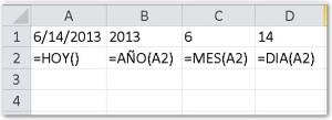 Fechas en Excel