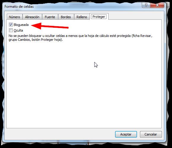 Proteger una hoja en Excel