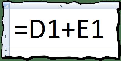 Que es una formula de Excel