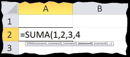 Que es una formula en Excel